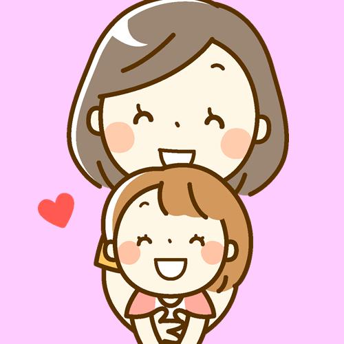 娘の産毛を処理するママ